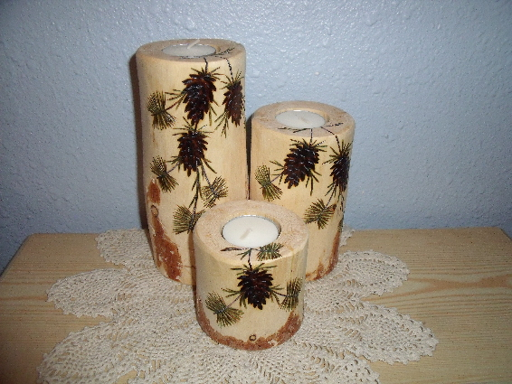 Check Out Our Home Log Decor Items